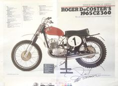 1968- Roger Decoster's CZ
