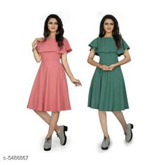 Dresses Women's Solid Peach Crepe Dress Fabric: Crepe Sleeve Length: Short Sleeves Pattern: Solid Multipack: 2 Sizes: S (Bust Size: 36 in Length Size: 44 in)  XL (Bust Size: 42 in Length Size: 44 in)  L (Bust Size: 40 in Length Size: 44 in)  M (Bust Size: 38 in Length Size: 44 in)  XXL (Bust Size: 44 in Length Size: 44 in) Country of Origin: India Sizes Available: S, M, L, XL, XXL *Proof of Safe Delivery! Click to know on Safety Standards of Delivery Partners- https://ltl.sh/y_nZrAV3  Catalog Rating: ★3.9 (453)  Catalog Name: Urbane Graceful Women Dresses CatalogID_818971 C79-SC1025 Code: 266-5488867-