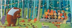 """Forest Friends"" - Olivier Tallec"