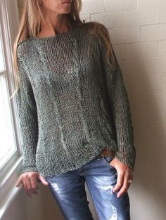 Dark Color Ladies Sweater