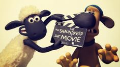 Shaun the Sheep with Bitzer the dog - Aardman Animation's Shaun the Sheep movie goes into production.