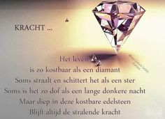 Dutch Quotes, Sacred Heart, Good Thoughts, Quotes To Live By, Best Quotes, Qoutes, Heart Ring, Inspirational Quotes, Words