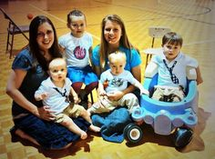 So much fun for Paul to be with his cousins and for Priscilla to be with her little sister @Anna_Duggar. #Familytime