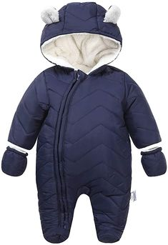 This is a link to Amazon and as an Amazon Associate I earn from qualifying purchases. Ding-dong Baby Boy Girl Winter Hooded Puffer Jacket Snowsuit with Gloves #babyclothes #babysnowsuit Puffer Jackets, Winter Jackets, Snow Wear, Baby Snowsuit, Charcoal Teeth, Suit Prices, Baby List, Ding Dong, Snow Suit