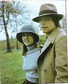Carrie Fisher & Mark Hamill--
