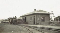Newly re-built Nahcotta Depot after the Jan. 29, 1915 fire that destroyed Nahcotta's business district.