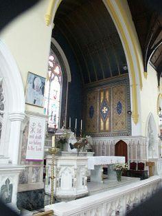 Thanks to Marie Carney for photo inside this Roman Catholic Church in Castleblayney Roman Catholic, Family History, Ireland, Irish, Mary, Catholic, Irish Language