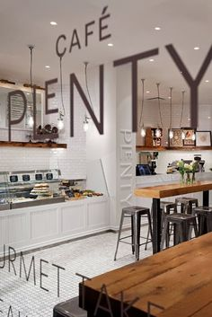 So fresh and inviting, love this inspiration. Love the way we think? Commercial kitchen and bar design and installation. Custom stainless steel and refrigeration. Visit us at www.lamondcatering.com