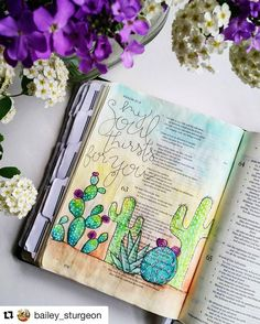 Bible Journaling by @bailey_sturgeon