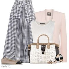 Crop Top and a High-Waisted Skirt