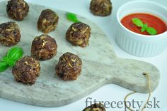 Pečené cuketovo-mäsové guľky - FitRecepty