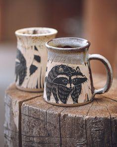 Hand Built Pottery, Slab Pottery, Pottery Mugs, Ceramic Pottery, Ceramic Tableware, Ceramic Decor, Ceramic Cups, Ceramic Artists, Ceramic Painting