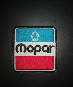 Mopar-Chrysler-Racing-Car-Patch-Iron-on-Jacket-T-shirt-Hat-Cap-Badge-Logo-Emblem