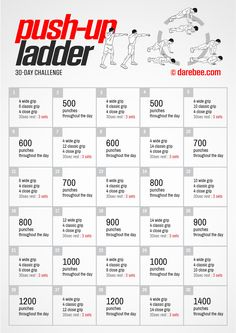 Challenge by darebee boxer workout, push up workout, 300 workout, workout f 30 Day Pushup Challenge, Pull Up Challenge, Month Workout Challenge, Thigh Challenge, 300 Workout, Push Up Workout, Boxing Workout, Chair Workout, Workout Schedule