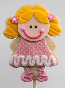 Christmas Cookie: Nutcracker Ballerina