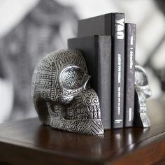 Zio Ziegler PBteen Skull Bookends