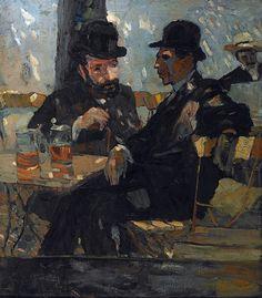 Albert Weisgerber: Im Biergarten, 1904 - Albert Weisgerber Museum, Sankt Ingbert