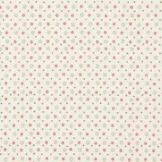 Carole 1 - carmin - Autres tissus de décoration - Cretonne - Autres tissus en coton - tissus.net