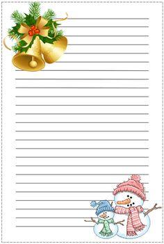 Coisas para o Natal: Papel de carta natalino
