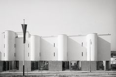 Terrace houses, Werkbundsiedlung, Vienna, André Lurçat, 1932