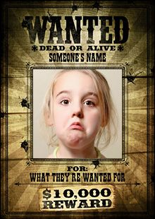Printable Wanted Posters Wanted Posters For Antagonists In Stories The Crucibleaccused .