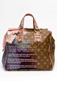 29fe3b3810 richard prince  amp  marc jacobs for louis vuitton collaboration. Jokes Bag  New Handbags