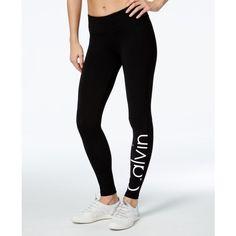 Calvin Klein Performance Logo Leggings (150 RON) ❤ liked on Polyvore featuring pants, leggings, calvin klein, logo pants, calvin klein trousers, calvin klein leggings and legging pants