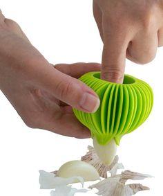 Loving this Garlic Peeler on #zulily! #zulilyfinds