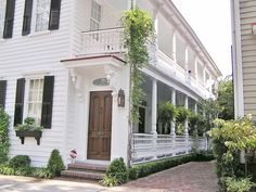 Charleston - love how the door leads to the open porch.  Brilliant!