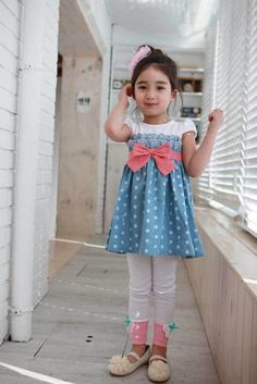 Aliexpress.com : Buy Wholesales 3pcs/lot Girls Toddler Pink Bow Dress Kids A Line Blue Color Summer Dots Dresses Free Shipping GD057 from Reliable Girls Toddler Dress suppliers on Missing You