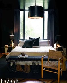 Black Bedroom Paint Color