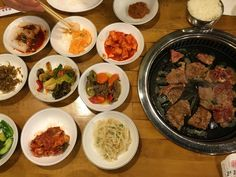 Generally speaking, there are two types of Korean BBQ restaurants, all-you-can-eat spots vs. à la carte spots. If you're feeling extra hungry, or you are dining with a large group, the AYCE options are a no-brainer. If you want quality over quantity, going