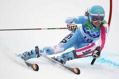 Koss Sponsored athlete, Julia Mancuso.