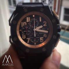Another 48mm Audemars Piguet. This time the Royal Oak Offshore 'Legacy' limited to 1500 pieces dedicated to their ambassador Arnold Schwarzenegger.