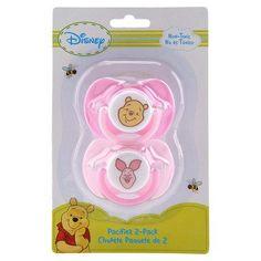 Amazon.com: Disney Baby Pacifier 2 Pack Winnie the Pooh - Girls: Baby