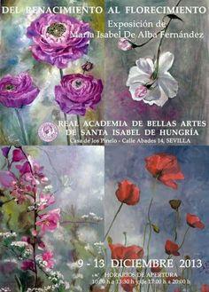Exposición del Renacimiento al Florecimiento. María Isabel de Alba #pintamialma. Pintamialma
