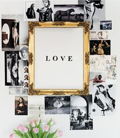 pictures and frame