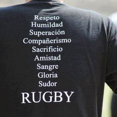 valores del rugby - Buscar con Google Frases Rugby, Rugby Quotes, Pumas, Rugby Sport, All Blacks, Rugby Players, Sports, Google, Samurai