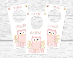Baby Nursery Closet Organizers and Dividers Printable by Suselis