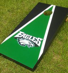philadelphia eagles corn hole board   Philadelphia Eagles Cornhole ...