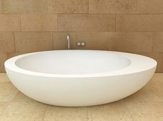Le Giare bathtub is an impressive piece that comes to complete the eponymous oval bathroom suite collection. Designed by Claudio Silvestrin for Ceramica Cielo, this beautiful oval shaped tub...
