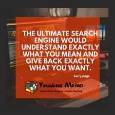 Love this quote! It alludes that the source of all creation need only think something and it is. Larry Page, Thursday Quotes, Competitor Analysis, Work From Home Moms, Personal Branding, Personal Trainer, Search Engine, Seo, Teacher