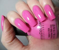 Sinful Colors pinks | So You Beauty - Sinful Colors Pink Forever Paisley Nail Art