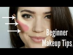 (Great Beginner Blush & Bronzer Tutorial) Beginner Makeup Tips & Tricks by TheMakeUpChair (from 2.50 to 4 mins)