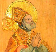Sant'Ubaldo da Gubbio ( 1085 circa - 1160 ) della nobile famiglia dei Baldassini, rimase presto orfano e fu allevato da uno zio che ne curò l'educazione religiosa ed intellettuale. Ordinato sacerdote nel 1114, fu poi priore della sua canonica , riformandone disciplina e costume. La fama di santità lo portò ad essere acclamato vescovo suo malgrado, e tale fu per ben 31 anni, durante i quali con mitezza d'animo si adoperò per ammansire nemici ed avversari.