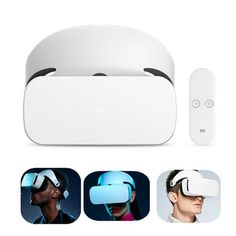 451a1ad9e5d9 Original Xiaomi VR Glasses Virtual Reality Headset with Remote Controller  for Mobile Phone