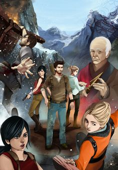 Uncharted 2 by Jack-R-Abbit.deviantart.com on @deviantART