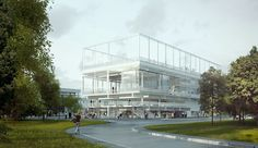 public condenser - Paris-Saclay