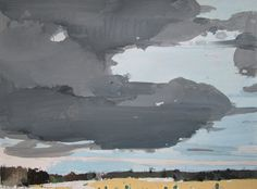 harry stooshinoff (paintbox) | december sky, west line
