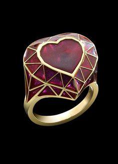 Rosamaria G Frangini   High Red Jewellery  